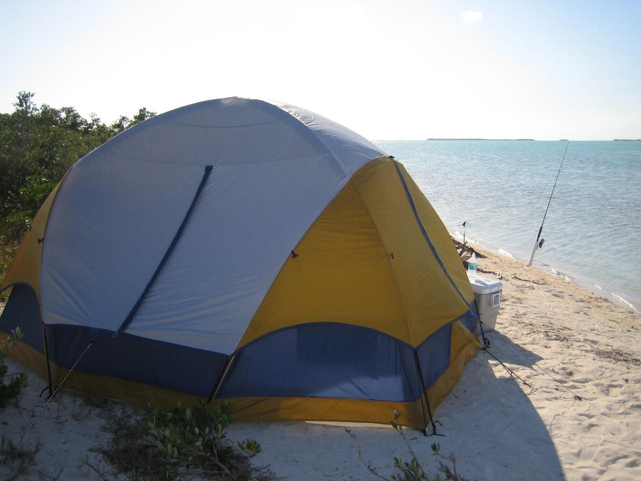 Wystarczy plecak i dobry namiot